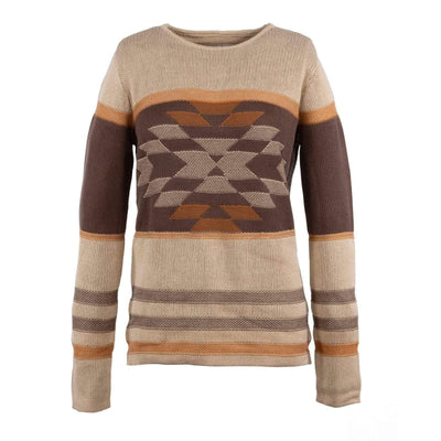 Ladies Alta Sweater in Tan-Atomic 79
