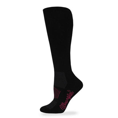 Ladies Boot Sock W/Arch Support in Black-Atomic 79
