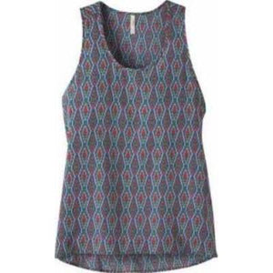 Ladies Emma Tank in Midnight Blue Print-Atomic 79