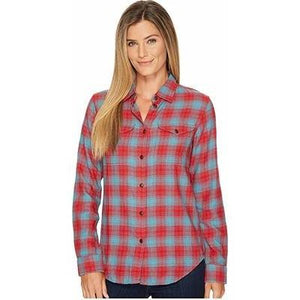 Ladies Long Sleeve Cotton Flannel Scout Shirt-Atomic 79