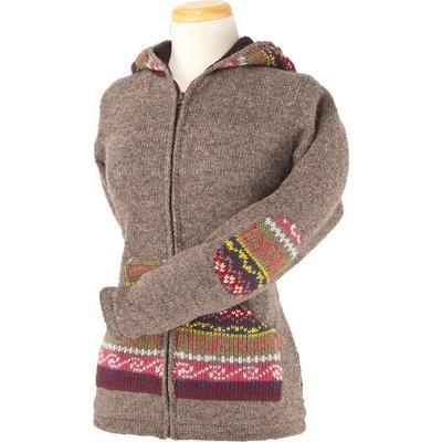Ladies Molly Sweater in Medium Natural-Atomic 79