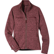Ladies Old Faithful Sweater in Port-Atomic 79
