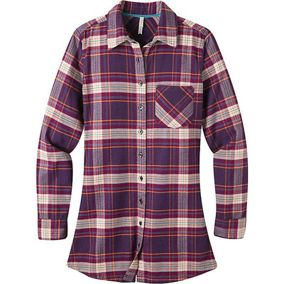 Ladies Penny Plaid Tunic in Huckleberry-Atomic 79