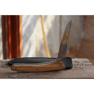 Le Thiers Stainless Pocket Knife in Olivewood-Atomic 79