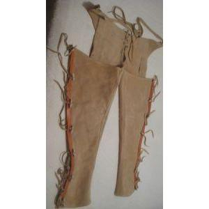 Leather and Suede Chaps-Atomic 79