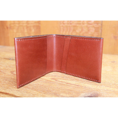 Leather Billfold in Chestnut-Atomic 79