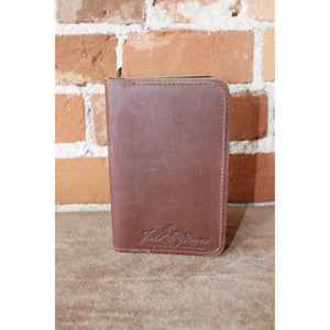 Leather Pocket Portfolio-Atomic 79