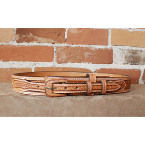 Leather Ranger Russet Belt-Atomic 79