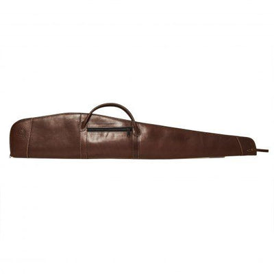 Leather Rifle Case W/Exterior Locks and Closure-Atomic 79