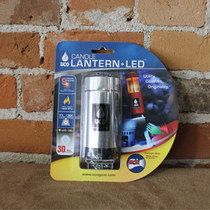 Led Lantern Kit In Polished Aluminum-Atomic 79