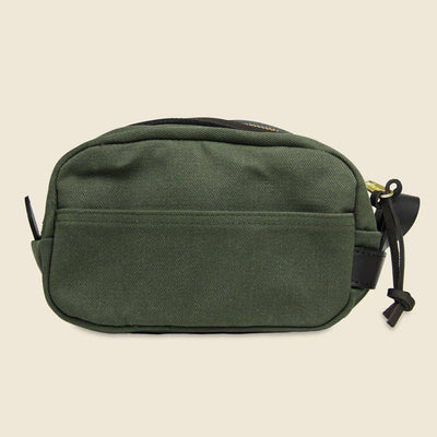 Lightweight Travel Kit W/ Leather Loop in Otter Green-Atomic 79