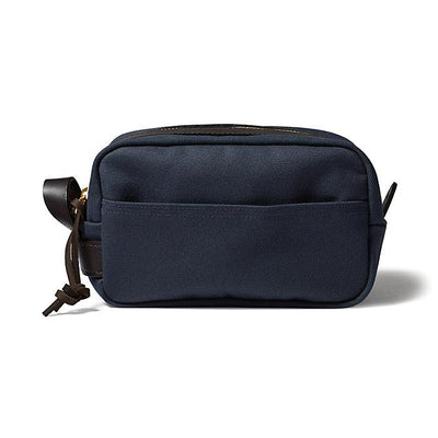 Lightweight Travel Kit W/Leather Loop in Navy Blue-Atomic 79