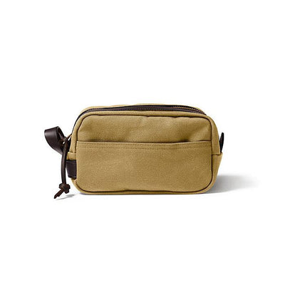 Lightweight Travel Kit W/Leather Loop in Tan-Atomic 79