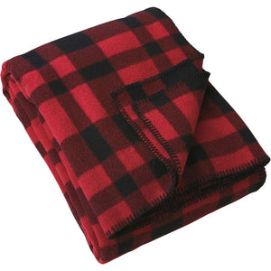 Mackinaw Blanket in Red and Black Plaid-Atomic 79