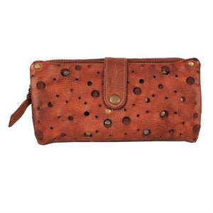 Margery 100% Leather Handbag in Tan-Atomic 79