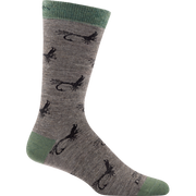 Mcfly Crew Light Sock In Taupe-Atomic 79