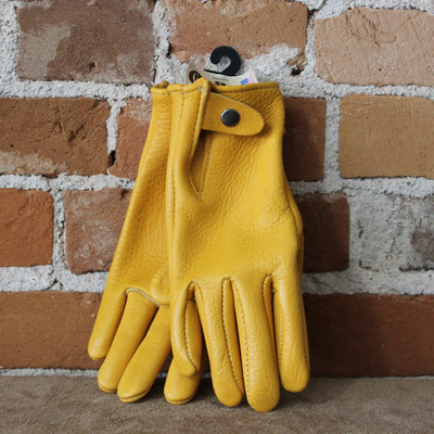 Medium Weight Goatskin Work Glove W/Snap-Atomic 79
