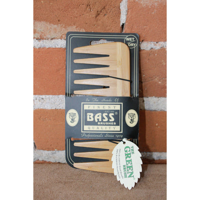 Medium Wide Tooth Wood Comb-Atomic 79