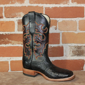 "Men's 10"" Leather Boot in Dark Brown-Atomic 79"