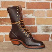 "Men's 10"" Leather Ranch Packer Boot W/Mini Vibe Sole-Atomic 79"