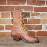 "Men's 10"" Leather Two Tone Packer Boot W/Mini Vibe Sole-Atomic 79"