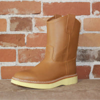"Men's 10"" Tan Cowhide Lettuce Pickers-Atomic 79"
