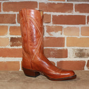 "Men's 12"" Classic Boot W/Cognac Burnished Buffalo Calf Top-Atomic 79"