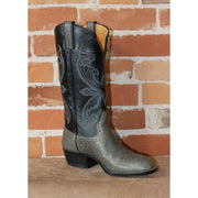 "Men's 13"" Leather Boot W/Spanish Shoulder in Grey-Atomic 79"