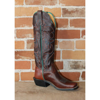 "Men's 16"" Leather Boots in Chocolate Latigo Leather from Wickett & Craig-Atomic 79"