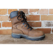 "Men's 8"" Insulated Leather Work Boot in Brown-Atomic 79"