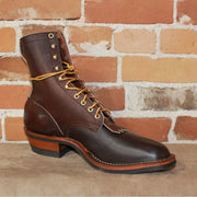 "Men's 8"" Leather Ranch Packer Boot W/Mini-Vibe Sole-Atomic 79"