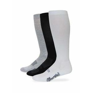 Men's Boot Sock W/Arch Support in White-Atomic 79