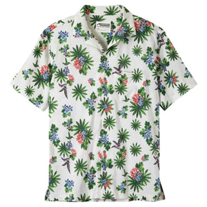 Men's Chee Pono Short Sleeve Shirt in Linen-Atomic 79