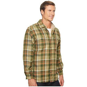 Men's Christopher Fleece Lined Shirt in Mossy-Atomic 79
