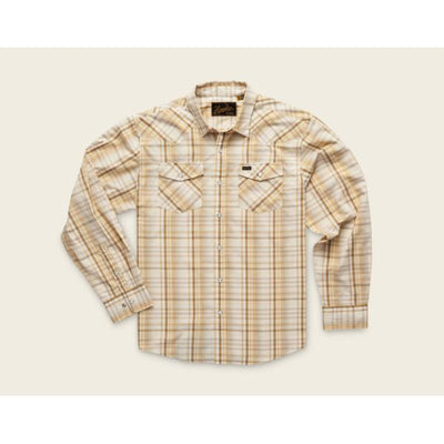 Men's H Bar B Longsleeve Panhandle Shirt in Harvest Plaid-Atomic 79