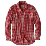 Men's Long Sleeve Shoreline Shirt in Rojo-Atomic 79