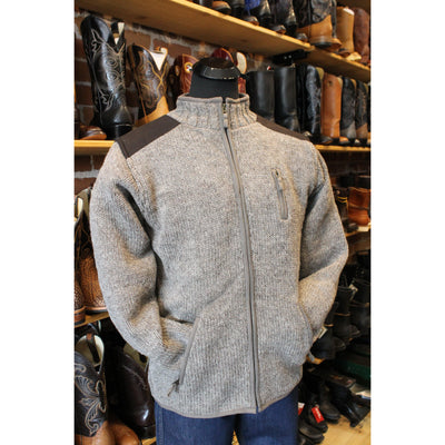 Men's Oxford Sweater in Medium Natural-Atomic 79