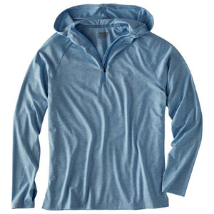 Men's Passage Hoody in Heron Heather-Atomic 79