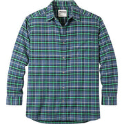 Men's Peden Plaid Relaxed Fit Shirt in Twilight-Atomic 79
