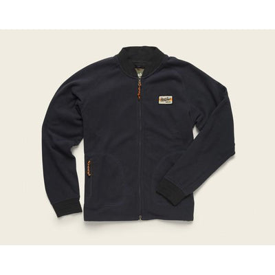 Men's Polestar Fleece Bomber in Squid Ink Blue-Atomic 79