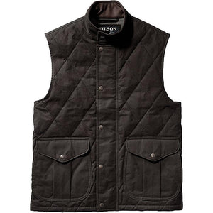 Men's Quilted Polson Vest W/P200 Cotton and Aero Finish-Atomic 79