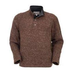 Men's Ridley Henley Sweater in Brown-Atomic 79
