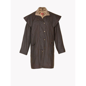 Men's Rouseabout Coat in Brown-Atomic 79