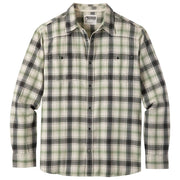 Men's Saloon Long Sleeve Flannel Shirt in Cream-Atomic 79