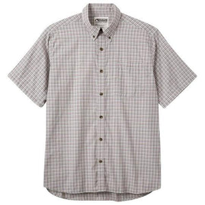 Men's Spalding Gingham Long Sleeve Shirt in Cirrus-Atomic 79