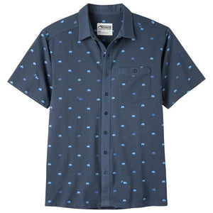 Men's Tatanka Short Sleeve Shirt in Twilight Print-Atomic 79