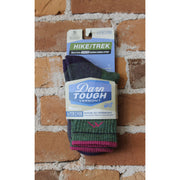 Merino Wool Crew Sock W/Cushion In Moss Heather-Atomic 79