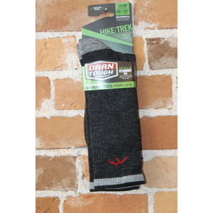 Merino Wool Cushioned Boot Sock In Black-Atomic 79