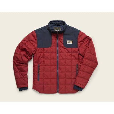 Merlin Jacket in Oxblood and Navy W/Primaloft-Atomic 79