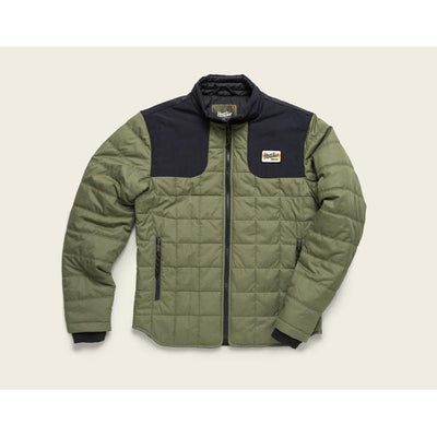 Merlin Jacket in Ranger Green and Black W/Primaloft-Atomic 79